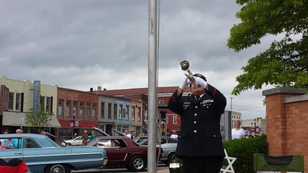 Taps on the Square during a car show