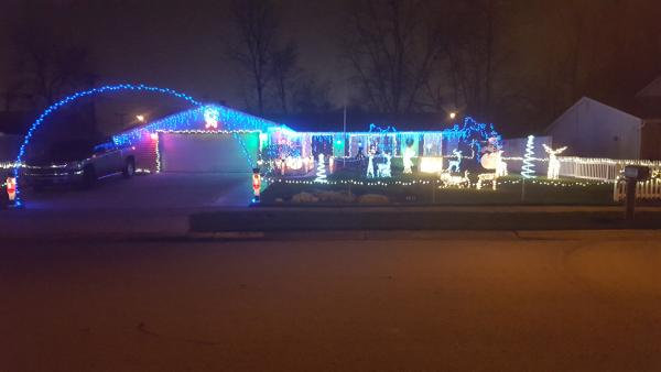 Best Christmas Lights Display - Timberland Drive