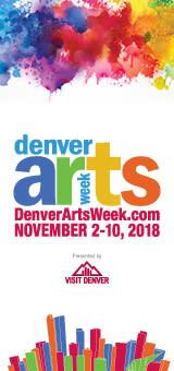 Denver Arts Week logo 2018