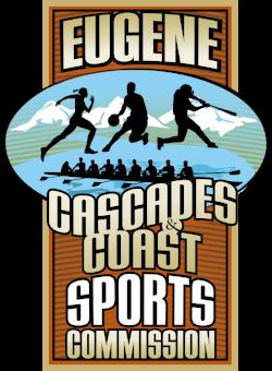 Eugene, Cascades & Coast Sports Commission Logo