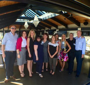 DMO travel media partners attending the Seattle Media Dinner in July