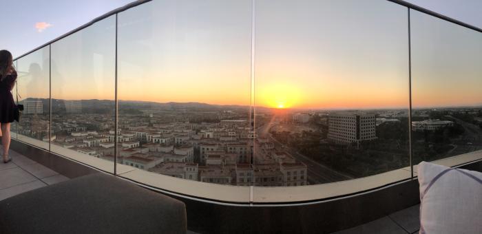 Marriott Irvine Spectrum Hive & Honey Rooftop View
