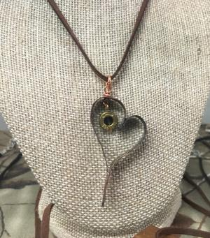 On Target necklace at Gallery on the Square
