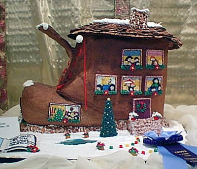Old Woman Who Lived in a Shoe – 1st Place, 1998