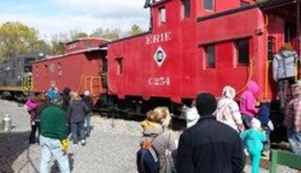 Trains at Rochester Genesee Valley Railroad Museum
