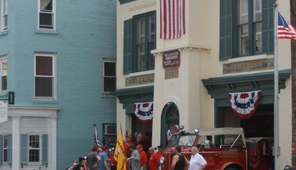 Volunteer Firemen's Hall and Museum