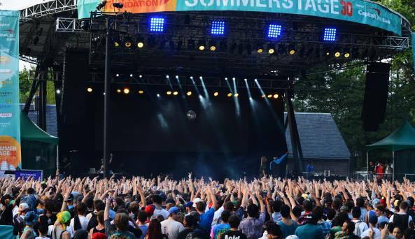 SummerStage in Central Park, photo courtesy of Aehee Kang Asano