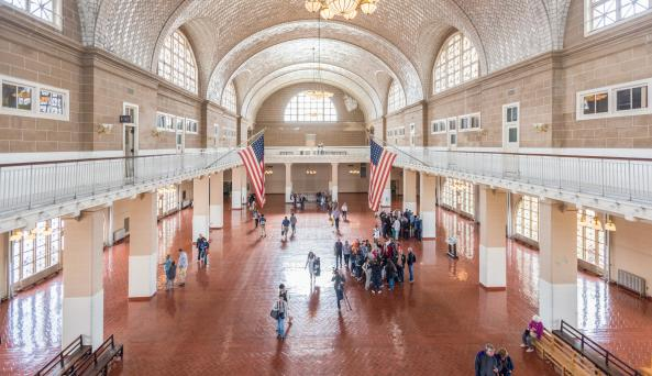 Ellis Island National Immigration Museum, interior