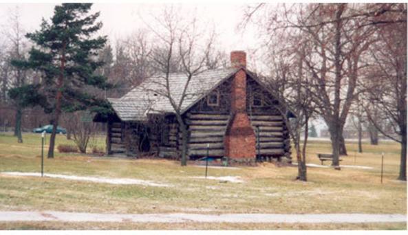 Log Cabin in Village Park