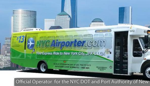 NY Airporter Shuttle Bus