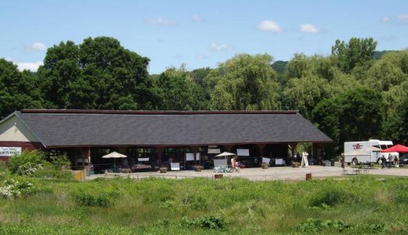 Copake Hillsdale Farmers Market barn