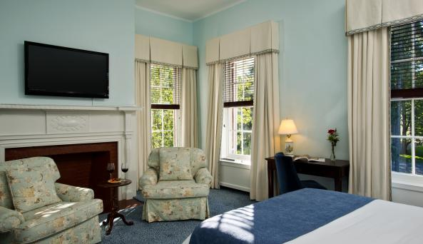 The beautiful Cooper Inn, Cooperstown NY