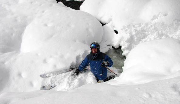 Snow Ridge Skiier - Photo Courtesy of Snow Ridge Ski Area