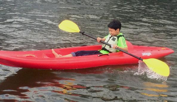 Kayaking for kids