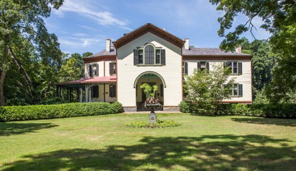 Locust Grove Estate Mansion East