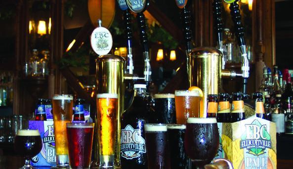 Beers on Bar.JPG