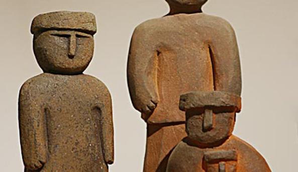 joy brown, carved figures, wood-fired clay.jpg