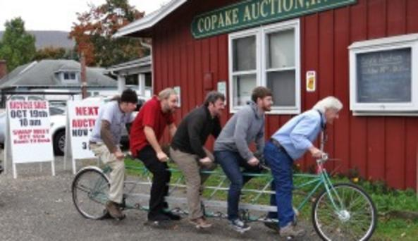 Copake Auction House - Bicycle Auction pr image
