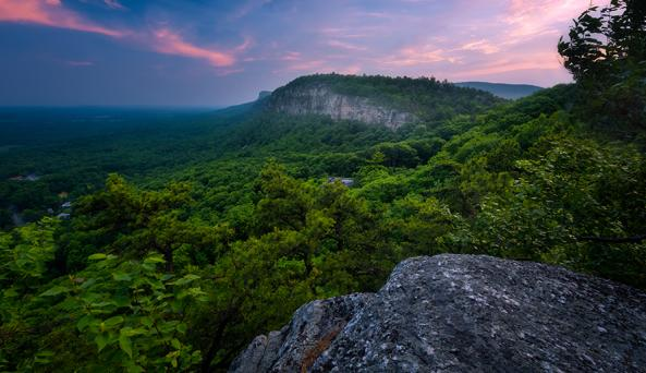 Millbrook Ridge from West Trapps by Gerald Berliner