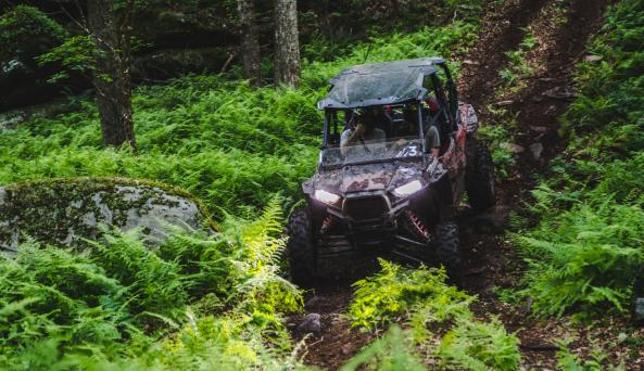 5 miles of off-road trails!