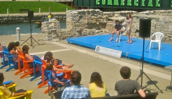 Young Playwrights Showcase, Canalside, 2013