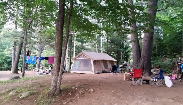 Lake George Riverview Campground 2