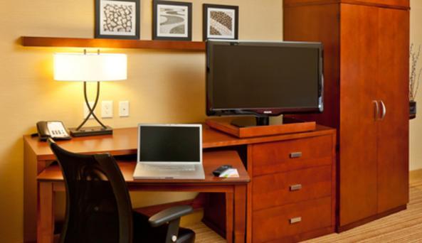 Guest Room Work Area