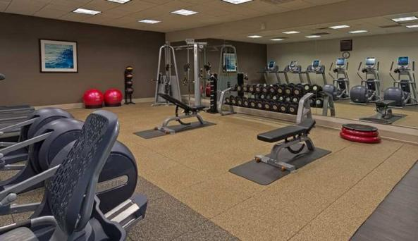 Hilton Albany Fitness Center