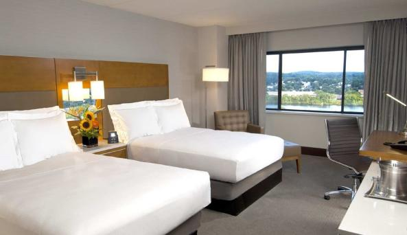 Hilton Albany Double Queen Standard Room