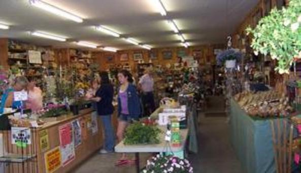 Inside colwell's farm market