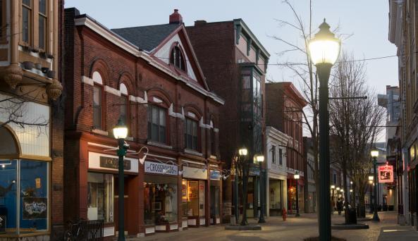 Jay Street Pedestrian Mall