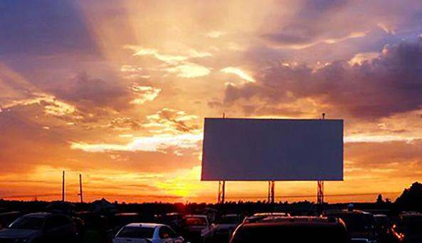 Drive In Sunset