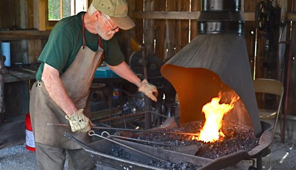 Babbie Rural & Farm Learning Museum Blacksmith Shop - Photo by Dan Rock