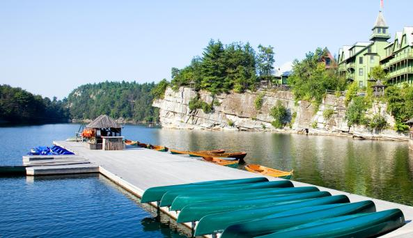 Boat Dock on Lake: Photography by Jim Smith