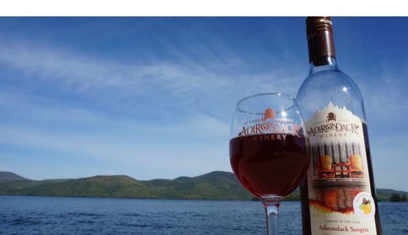 Adirondack Winery Tasting Room ~ Bolton Landing