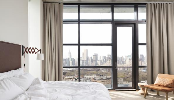 Manhattan View King Accommodations