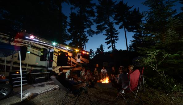 Lake George Rv Park Camping