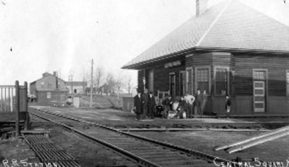 Depot in 1910