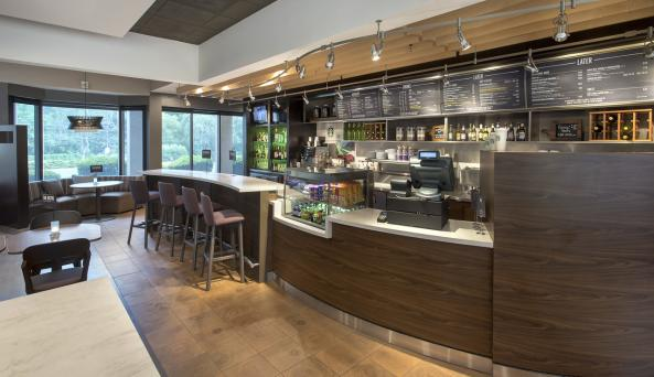 On-site restaurant The Bistro, serving breakfast and dinner daily