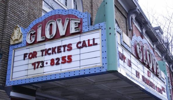 Glove Theater Marquee