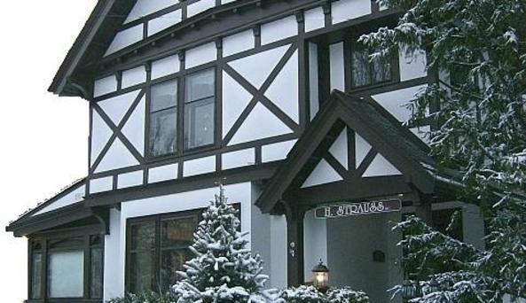 Winter in Elmira's Historic Near Westside