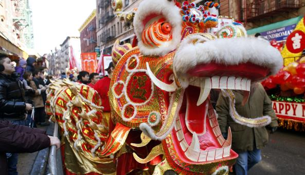 Chinese New Year Chinatown _ Photo by Joe Buglewicz - Courtesy of NYC & CO