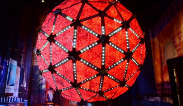 The ACTUAL Times Square New Year's Eve Centennial Ball