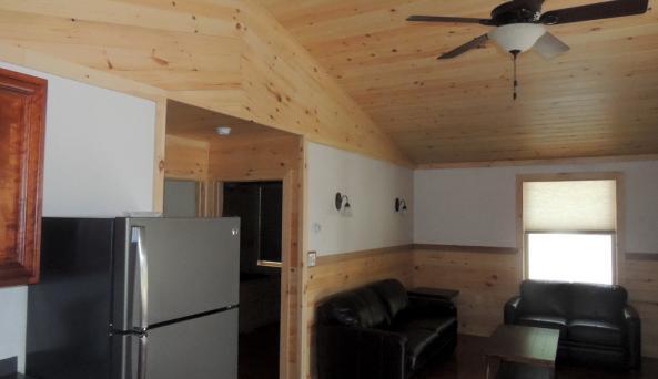 roomy and spacious open floor plan