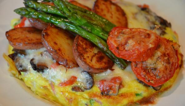 Barclay Heights Bed & Breakfast Food