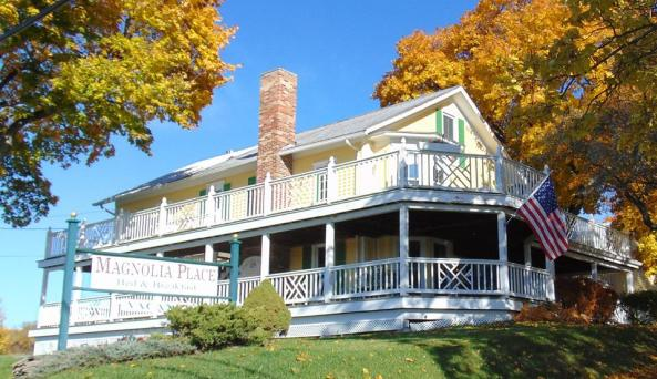 A sunny setting for your Finger Lakes getaway!