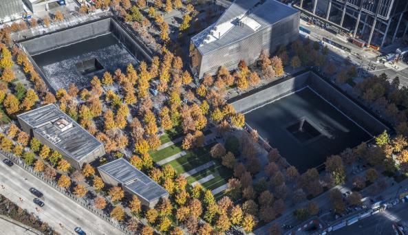 911 memorial - Photo Courtesy of 911 Memorial and Museum