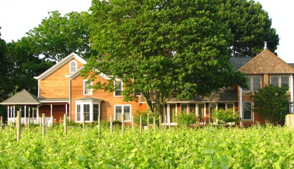 Farmhouse Inn at Shinn Estate Vineyards - Photo by Barbara Shinn - Courtesy of Shinn Estate Vineyard