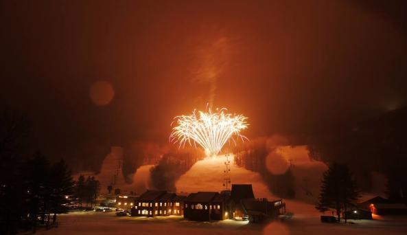 Torchlight Parade & Fireworks
