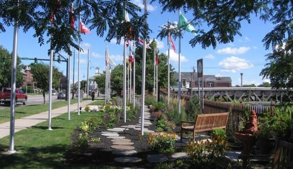 War of 1812 Bicentennial Peace Garden Photo Courtesy of Peace Garden
